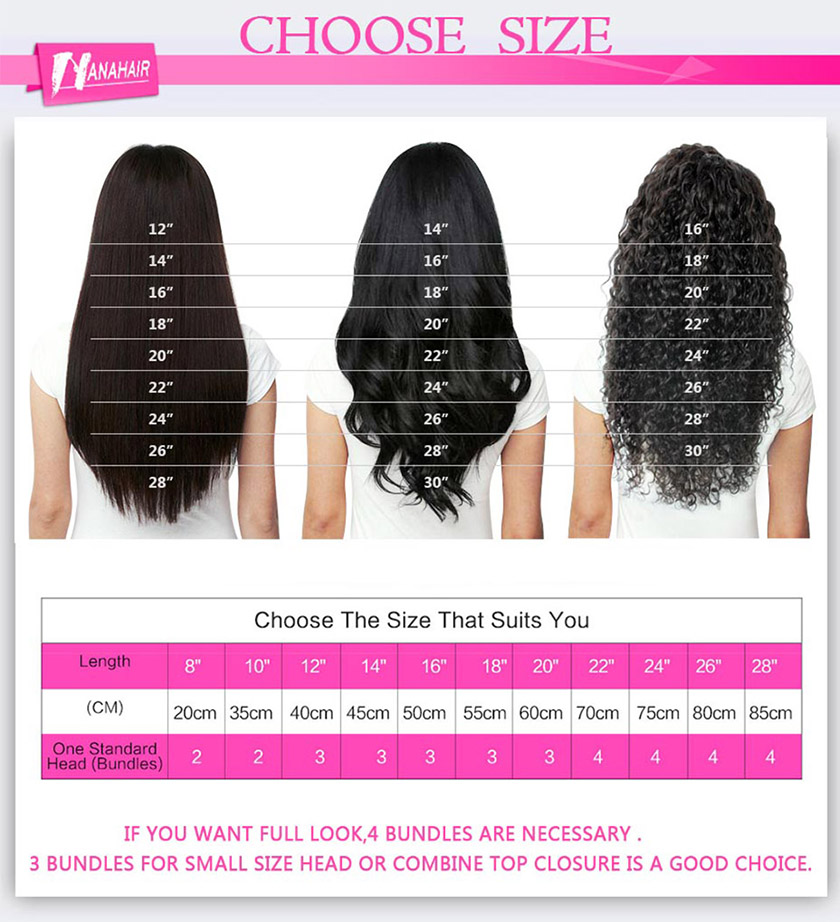 Virgin Eurasian Hair Extensions