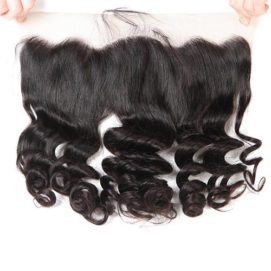 Brazilian Hair with frontal wave