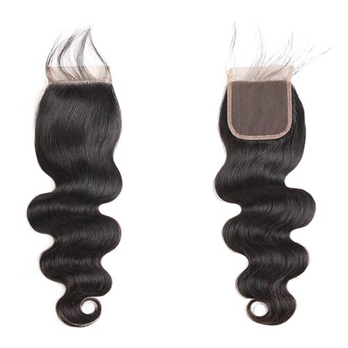peruvian hair lace closure body wave