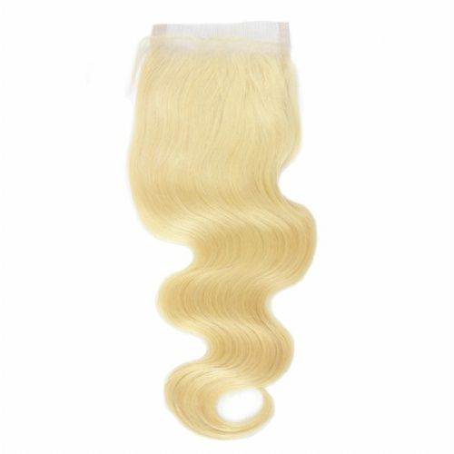 613 Lace Closure Body Wave Blonde Lace Closure 4x4 Good
