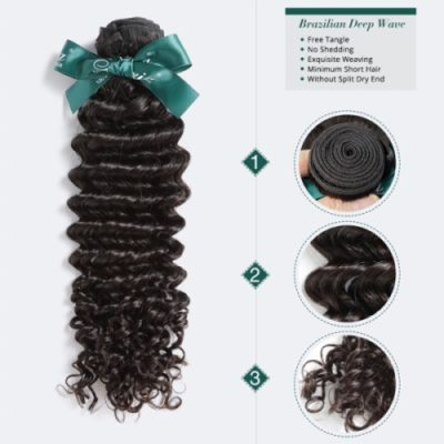Brazilian hair curly wholesale