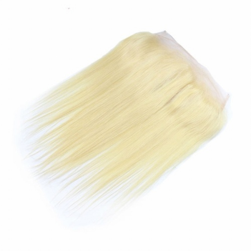Blonde hair 13x4 frontal straight