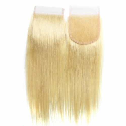 613 Lace Closure Blonde Straight 8a Grade Premium Quality
