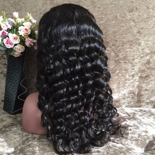 full front lace wig