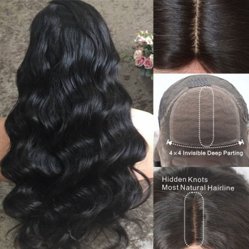 silk top lace wig