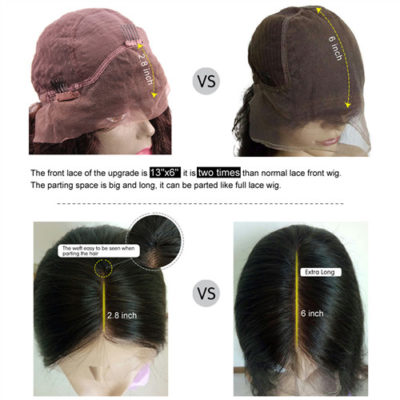 6 inch lace front wigs