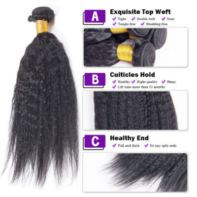 mink hair brazilian kinky straight