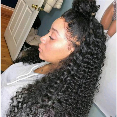 Awesome 13X6 Lace Frontal With Bundles Frontal Lace Wig Deep Curly Schematic Wiring Diagrams Amerangerunnerswayorg