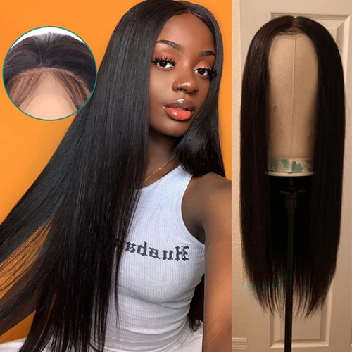 hd lace closure wig Straight