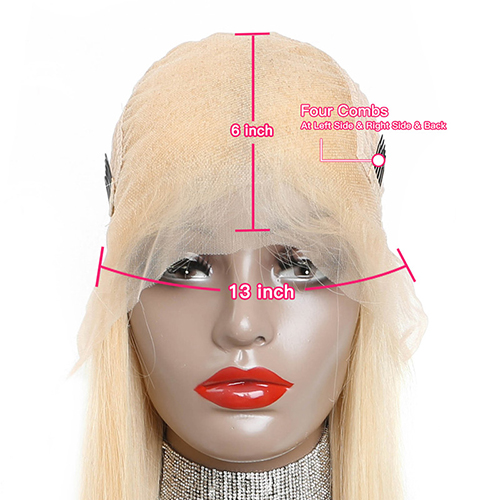 blonde human hair full lace wigs